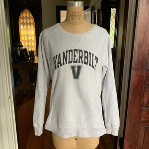 Vanderbilt University Sweatshirt Large EUC
